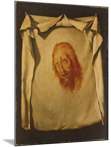 The Veil of Saint Veronica-Francisco de Zurbar?n-Mounted Giclee Print