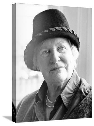 Diana Athill, 2000--Stretched Canvas Print