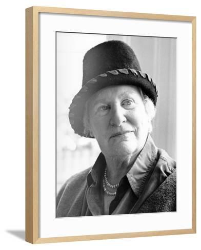 Diana Athill, 2000--Framed Art Print