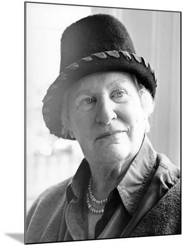 Diana Athill, 2000--Mounted Photographic Print