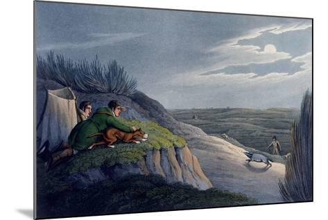 Badger Catching, 1820-Henry Thomas Alken-Mounted Giclee Print