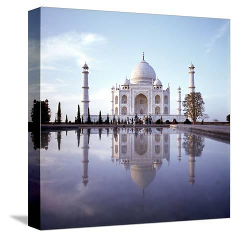 The Taj Mahal--Stretched Canvas Print