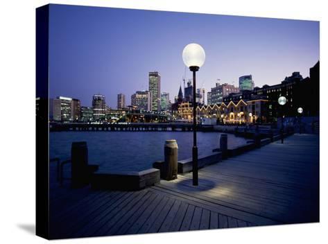 The Rocks, Sydney--Stretched Canvas Print