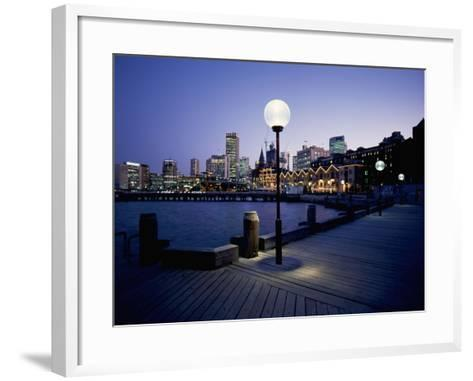 The Rocks, Sydney--Framed Art Print