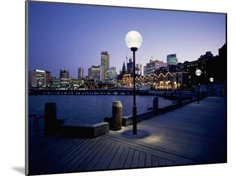 The Rocks, Sydney--Mounted Giclee Print