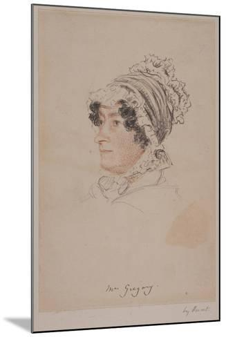 Mrs Hannah Gregory-William Henry Hunt-Mounted Giclee Print