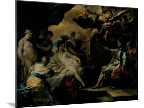 Zeuxis and the Maidens of Croton-Francesco Solimena-Mounted Giclee Print