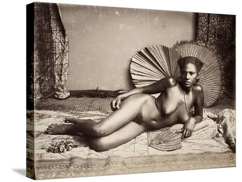 Fijian--Stretched Canvas Print