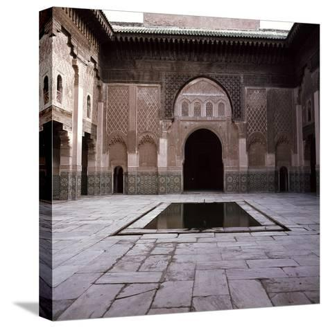 Madrasa Ben Youssef--Stretched Canvas Print