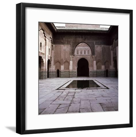 Madrasa Ben Youssef--Framed Art Print