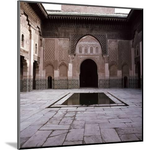 Madrasa Ben Youssef--Mounted Giclee Print