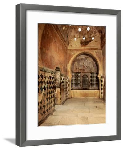 The Royal Baths in the Harem--Framed Art Print