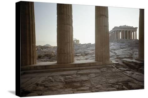 The Parthenon--Stretched Canvas Print
