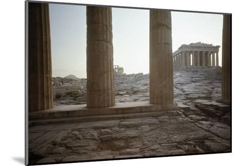 The Parthenon--Mounted Giclee Print