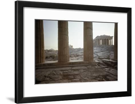 The Parthenon--Framed Art Print