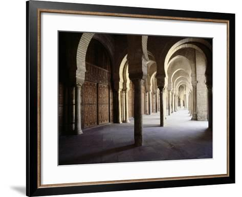The Great Mosque at Kairouan, One of the Oldest Islamic Buildings and the First Important One in…--Framed Art Print