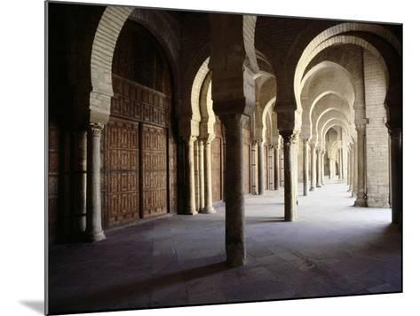 The Great Mosque at Kairouan, One of the Oldest Islamic Buildings and the First Important One in…--Mounted Giclee Print
