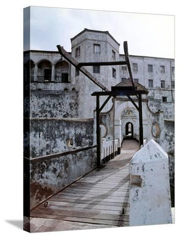 Elmina Castle Was Built by the Portuguese in 1482 and Used by Them and Later by Dutch and English…--Stretched Canvas Print