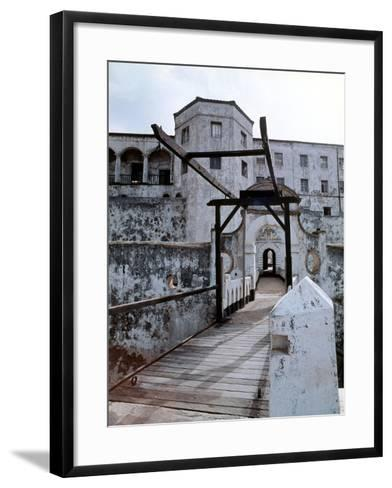 Elmina Castle Was Built by the Portuguese in 1482 and Used by Them and Later by Dutch and English…--Framed Art Print