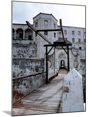 Elmina Castle Was Built by the Portuguese in 1482 and Used by Them and Later by Dutch and English…--Mounted Giclee Print