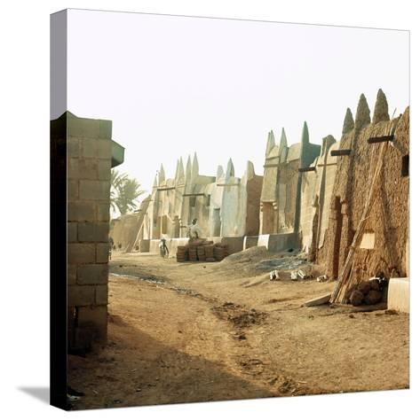 A Street in the Old Part of Kano, One of the Major Hausa-Fulani City States of Northern Nigeria--Stretched Canvas Print