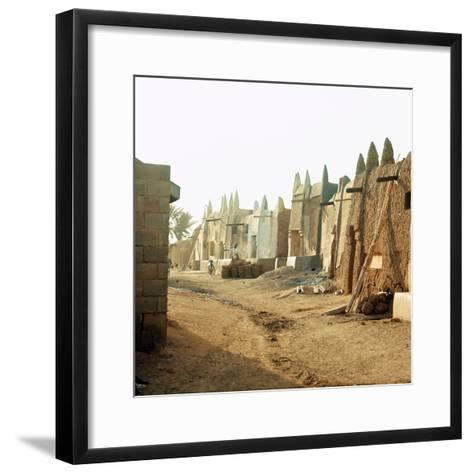 A Street in the Old Part of Kano, One of the Major Hausa-Fulani City States of Northern Nigeria--Framed Art Print