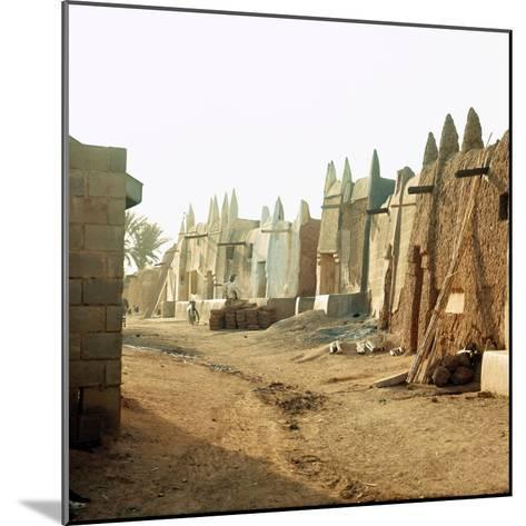 A Street in the Old Part of Kano, One of the Major Hausa-Fulani City States of Northern Nigeria--Mounted Giclee Print