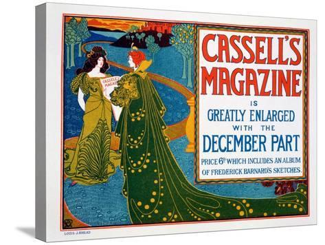 Advertisement for 'Cassell's Magazine', 1896-Louis John Rhead-Stretched Canvas Print