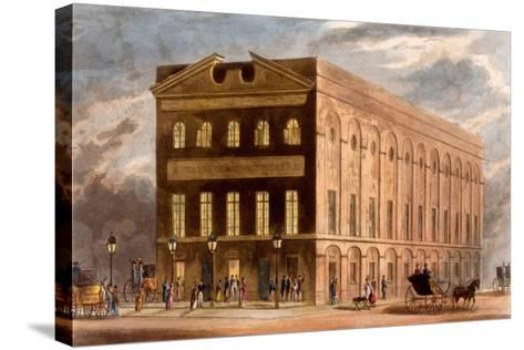 The Royal Couborg Theatre, 1826-Daniel Havell-Stretched Canvas Print