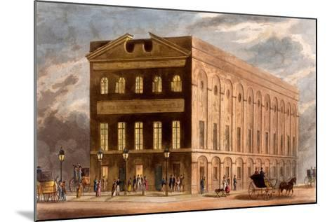 The Royal Couborg Theatre, 1826-Daniel Havell-Mounted Giclee Print