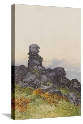 Bowerman?S Nose, Manaton Dartmoor , C.1895-96-Frederick John Widgery-Stretched Canvas Print