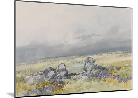 Grimspound, Dartmoor (Showing the Main Entrance from the South) , C.1895-96-Frederick John Widgery-Mounted Giclee Print