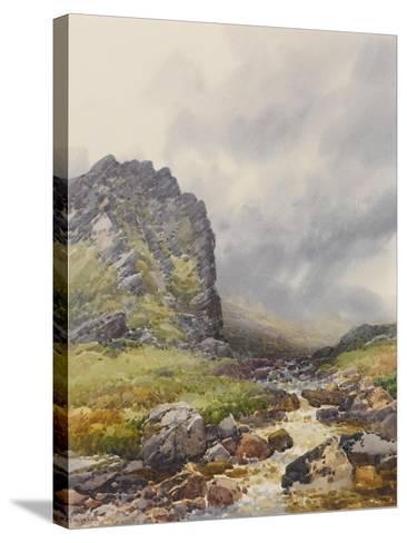 Dewerstone, Dartmoor , C.1895-96-Frederick John Widgery-Stretched Canvas Print