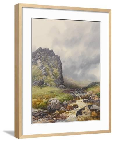 Dewerstone, Dartmoor , C.1895-96-Frederick John Widgery-Framed Art Print