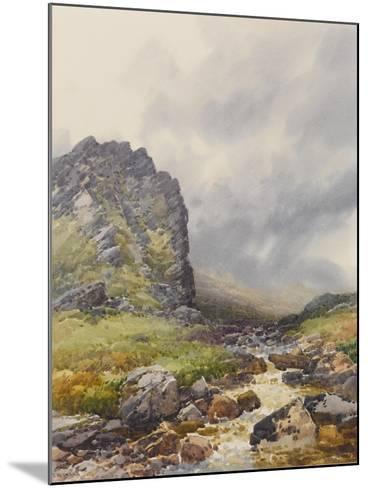 Dewerstone, Dartmoor , C.1895-96-Frederick John Widgery-Mounted Giclee Print
