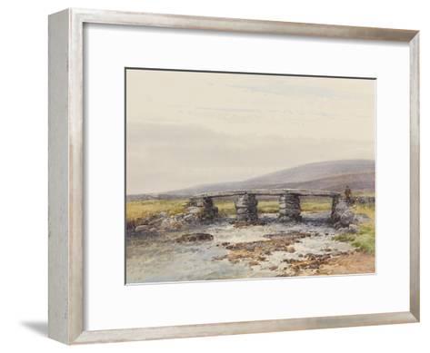 Cyclopean Bridge (Post Bridge, Dartmoor) , C.1895-96-Frederick John Widgery-Framed Art Print