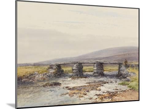 Cyclopean Bridge (Post Bridge, Dartmoor) , C.1895-96-Frederick John Widgery-Mounted Giclee Print