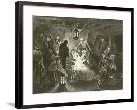 Death of Lord Nelson-Arthur William Devis-Framed Art Print