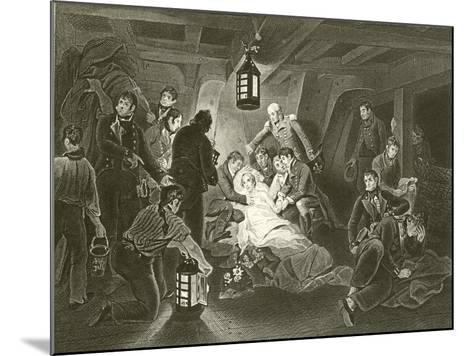 Death of Lord Nelson-Arthur William Devis-Mounted Giclee Print