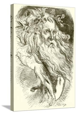 King Lear--Stretched Canvas Print