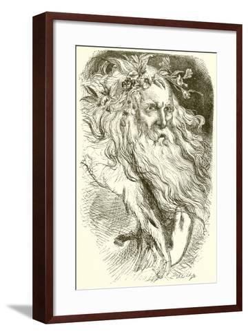 King Lear--Framed Art Print