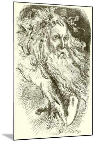 King Lear--Mounted Giclee Print