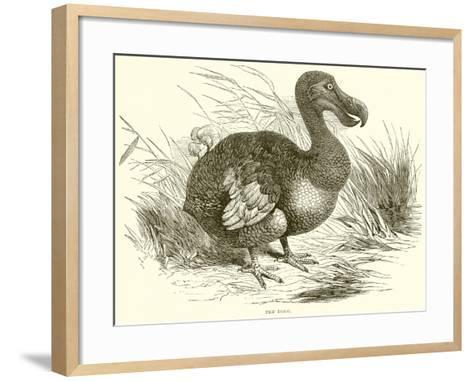 The Dodo--Framed Art Print