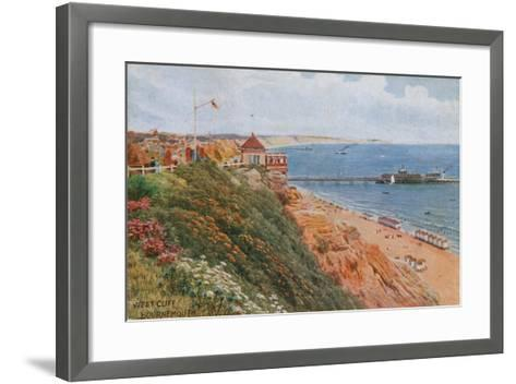West Cliff, Bournemouth-Alfred Robert Quinton-Framed Art Print