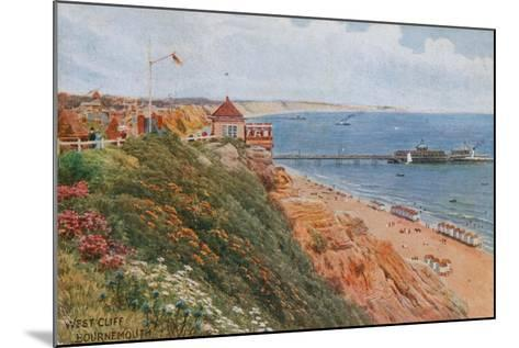 West Cliff, Bournemouth-Alfred Robert Quinton-Mounted Giclee Print
