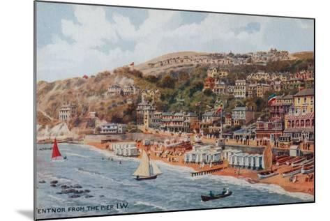 Ventnor from the Pier, Isle of Wight-Alfred Robert Quinton-Mounted Giclee Print