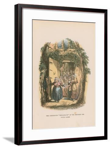 Illustration for Pickwick Papers-Hablot Knight Browne-Framed Art Print