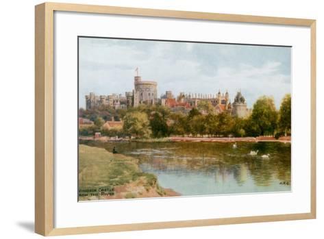 Windsor Castle-Alfred Robert Quinton-Framed Art Print
