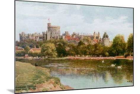 Windsor Castle-Alfred Robert Quinton-Mounted Giclee Print