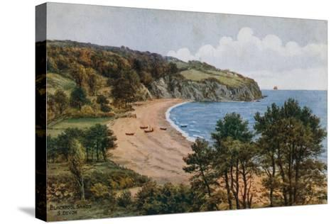 Blackpool Sands, South Devon-Alfred Robert Quinton-Stretched Canvas Print